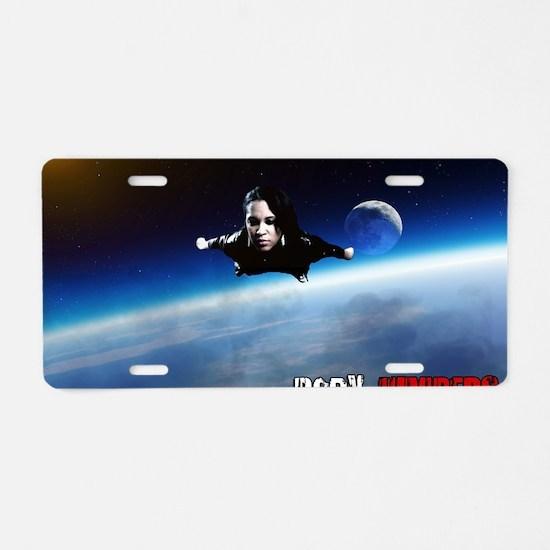 Shia'Ra Flying Aluminum License Plate