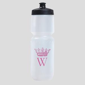 Vintage Crown Monogram Sports Bottle