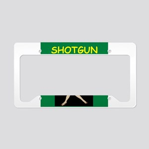 shotgun License Plate Holder
