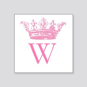 Vintage Crown Monogram Sticker