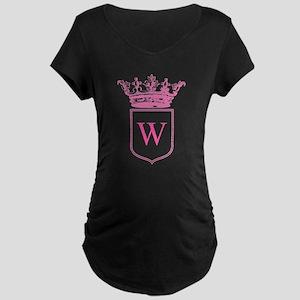Vintage Crown Monogram Maternity T-Shirt