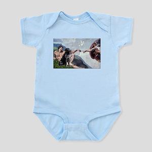 CREATION / Black Lab (#2) Infant Bodysuit