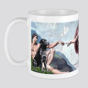 CREATION / Black Lab (#2) Mug