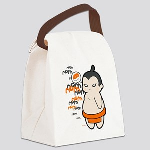 Ugo the Sumo Canvas Lunch Bag