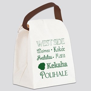 West Side Kauai Subway Art Canvas Lunch Bag