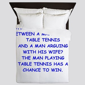 table tennis Queen Duvet