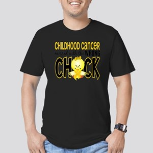 - Childhood Cancer Mes Men's Fitted T-Shirt (dark)