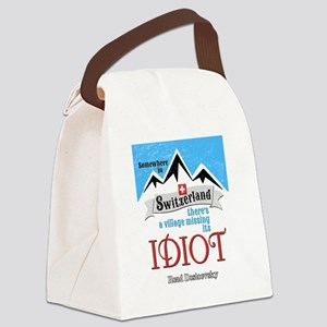 Village Missing Its Idiot Dostoev Canvas Lunch Bag