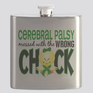 - Cerebral Palsy Messed With Wrong Chick Flask