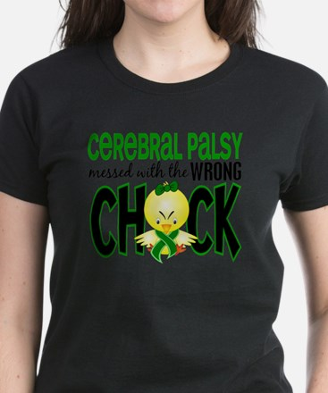 - Cerebral Palsy Messed With  Women's Dark T-Shirt