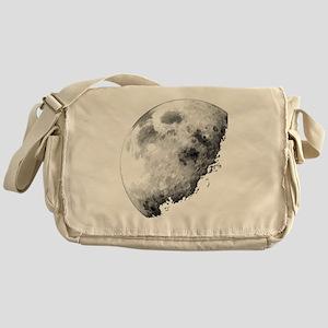 Eclipsing Moon Messenger Bag