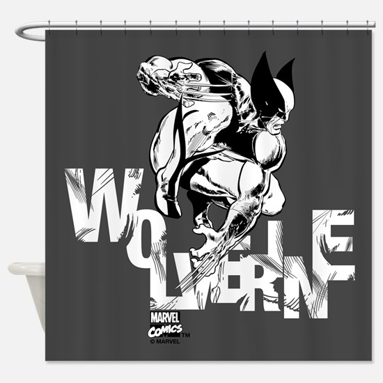 Wolverine Shower Curtain