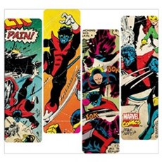 Nightcrawler Comic Panel Wall Art Canvas Art