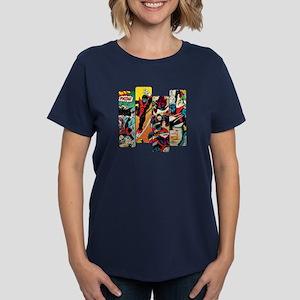 Nightcrawler Comic Panel Women's Dark T-Shirt