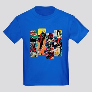 Nightcrawler Comic Panel Kids Dark T-Shirt