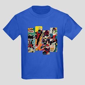 Nightcrawler Comic Panel Kids Dark T-Shirt