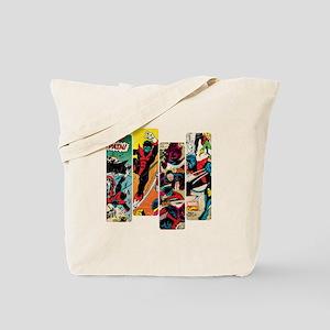 Nightcrawler Comic Panel Tote Bag