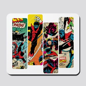 Nightcrawler Comic Panel Mousepad