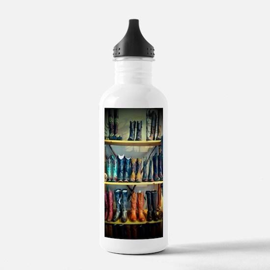 Cowboy Boots Water Bottle