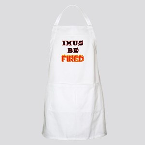 Imus be fired BBQ Apron