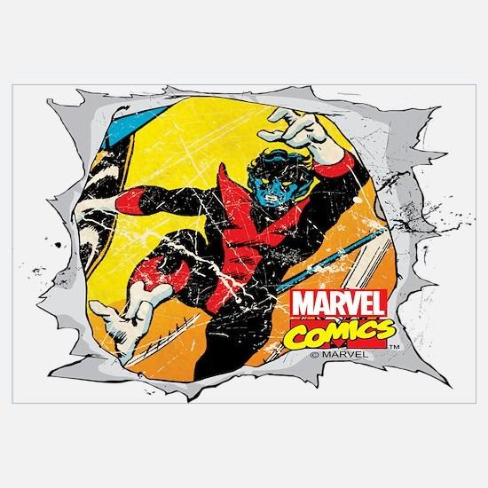 Nightcrawler X-Men Wall Art