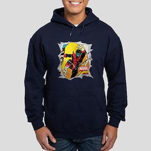 Nightcrawler X-Men Hoodie (dark)
