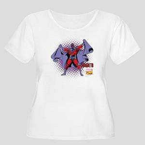 Magneto X-Men Women's Plus Size Scoop Neck T-Shirt