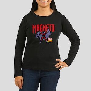 Magneto X-Men Women's Long Sleeve Dark T-Shirt