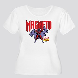 Magneto X-Men Women's Plus Size Scoop Neck T-Shirt