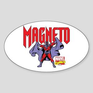 Magneto X-Men Sticker (Oval)