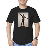 Men's Fitted T-Shirt With Sabin Howard's Apollo