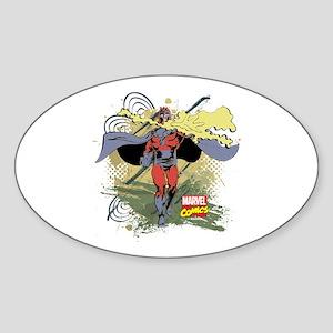 Magneto Sticker (Oval)