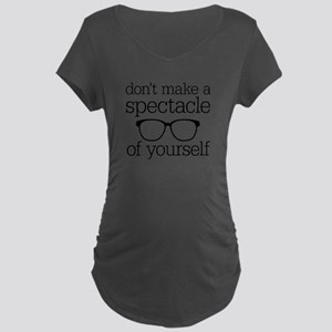 Spectacle of Yourself Maternity Dark T-Shirt