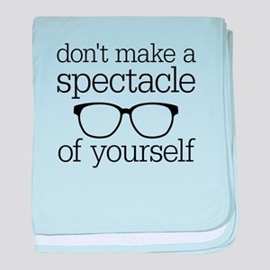 Spectacle of Yourself baby blanket