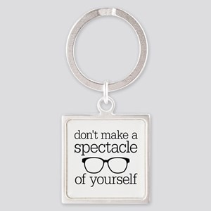 Spectacle of Yourself Square Keychain