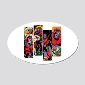 Magneto X-Men 20x12 Oval Wall Decal