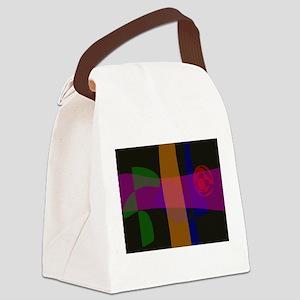 Amazing Night Canvas Lunch Bag