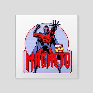 """Magneto X-Men Square Sticker 3"""" x 3"""""""