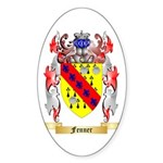 Fenner Sticker (Oval 50 pk)