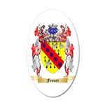 Fenner 20x12 Oval Wall Decal