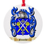 Fennelly Round Ornament