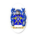 Fennelly Oval Car Magnet