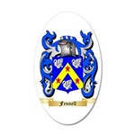 Fennell 20x12 Oval Wall Decal