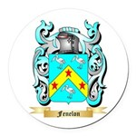 Fenelon Round Car Magnet