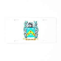Fenelon Aluminum License Plate