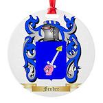 Fender Round Ornament