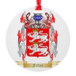 Felton Round Ornament