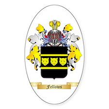Fellows Sticker (Oval)