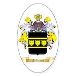 Fellowes Sticker (Oval)