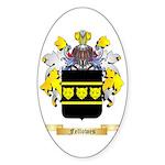 Fellowes Sticker (Oval 10 pk)